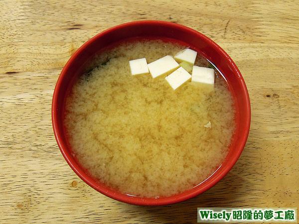 小碗味噌湯