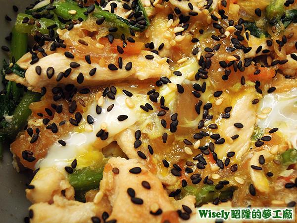 親子丼飯(雞肉/雞蛋)