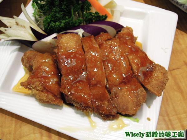 梅子脆皮雞(小)