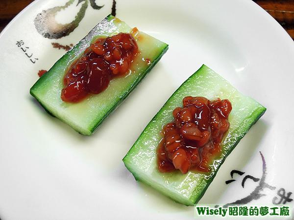 日式味噌黃瓜