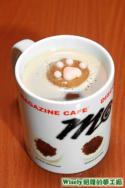 CafeCat BOX貓掌棉花糖(巧克力)