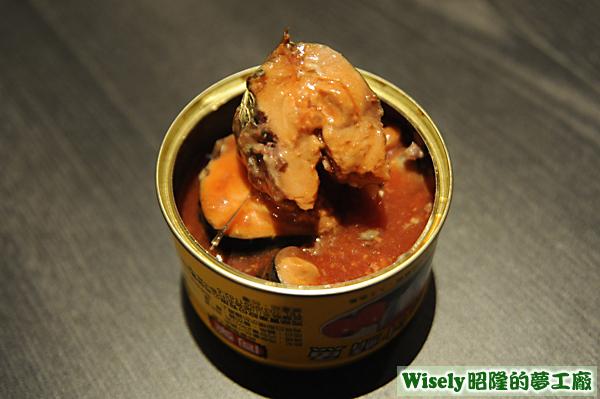蕃茄汁鯖魚罐頭(黃)
