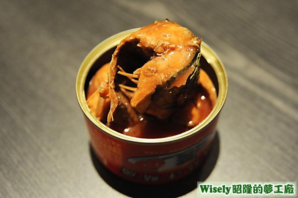 蕃茄汁鯖魚罐頭(紅)