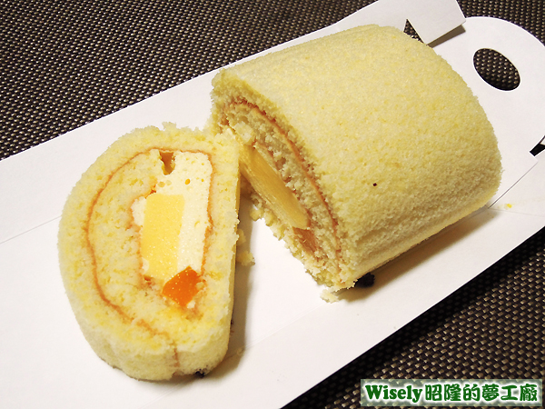 香草奶凍蛋糕