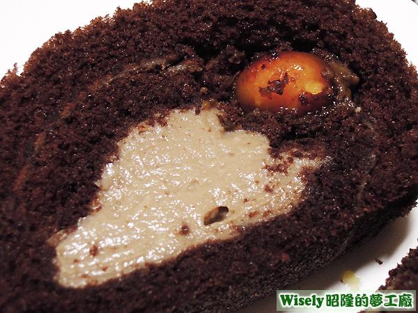 巧克力蛋糕(巧克力餡/夏威夷火山豆)