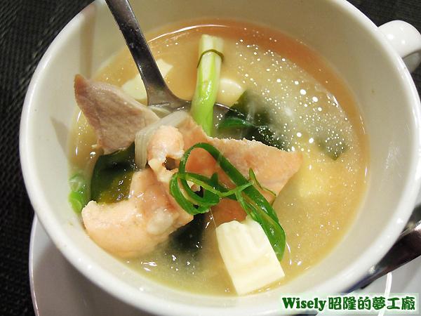北海道牛奶味噌湯