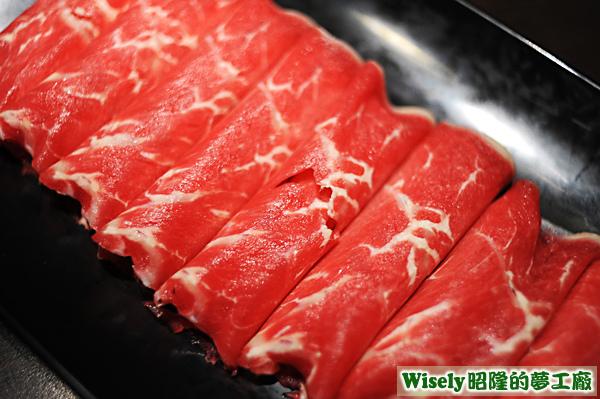 梅花牛肉和風燒鍋(澳洲)