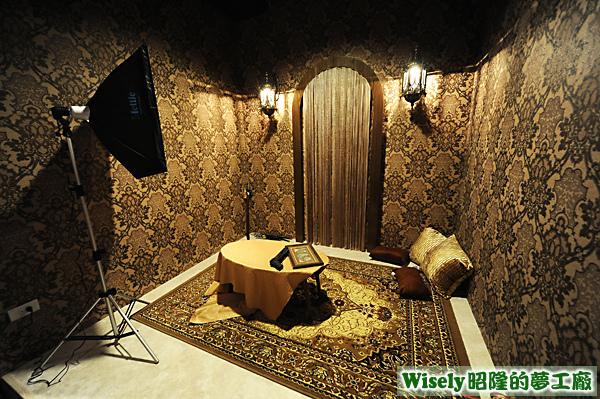 地下室攝影棚