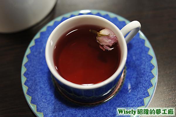 夜玫瑰煎茶