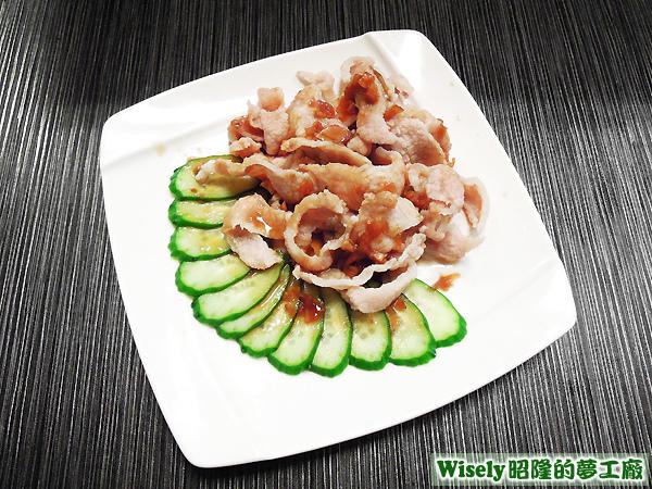 蒜泥松阪豬肉