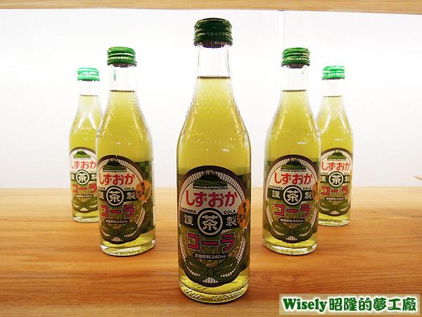 日本靜岡茶汽水