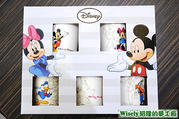 Disney米奇家族五入水杯組