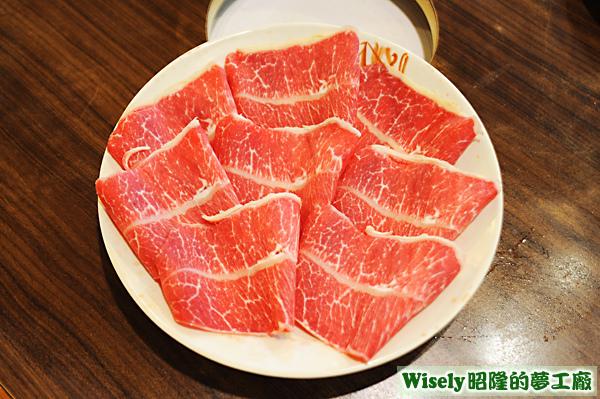 低脂板腱牛肉片