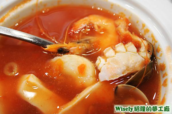 海鮮燉魚湯