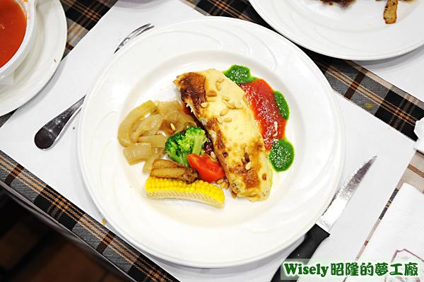 法式松子鮭魚