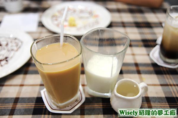 奶泡奶茶(冰)