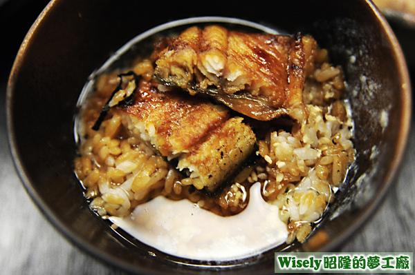茶泡飯鰻魚飯