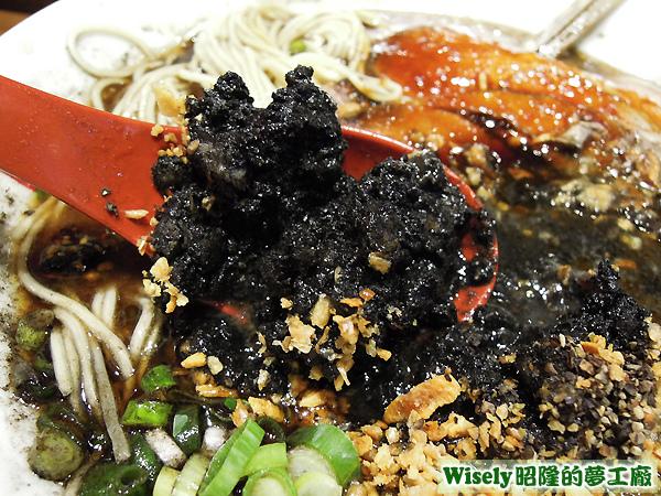 黑王球(墨魚汁/黑芝麻/特製黑醬)