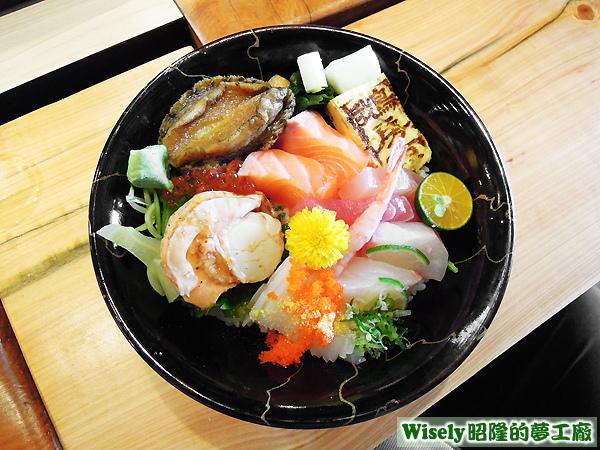 生魚片丼飯