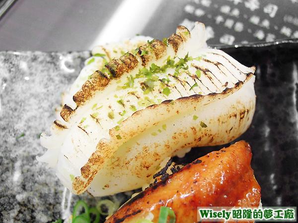 花枝炙壽司