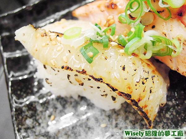 比目魚炙壽司