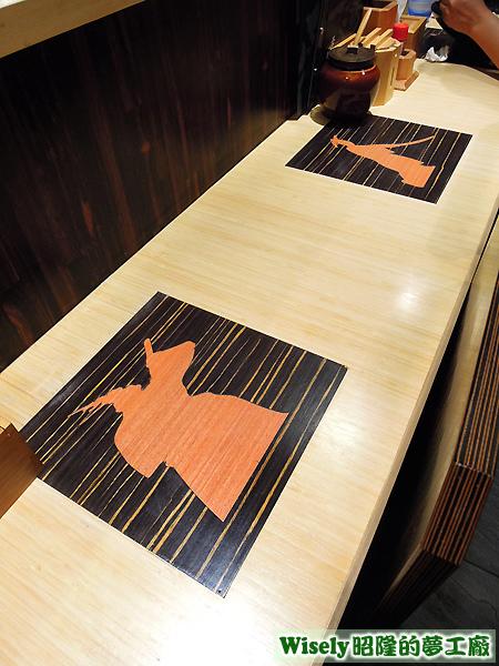 櫃檯用餐桌面