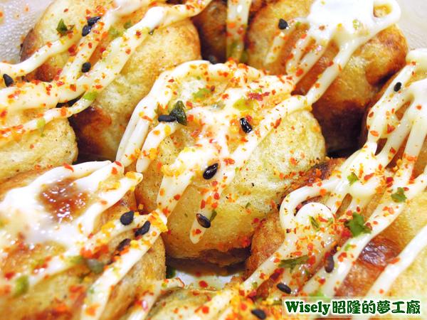 美乃滋風味章魚(たこ)燒