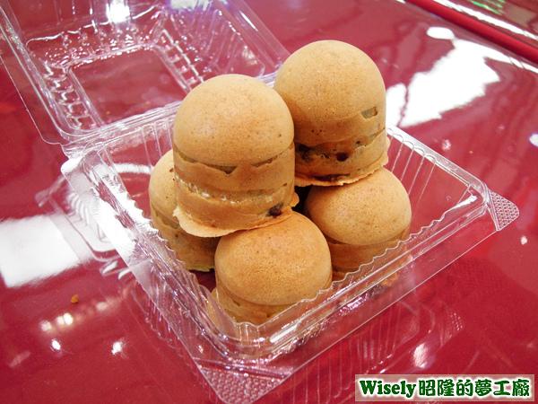 紅豆白玉燒菓子