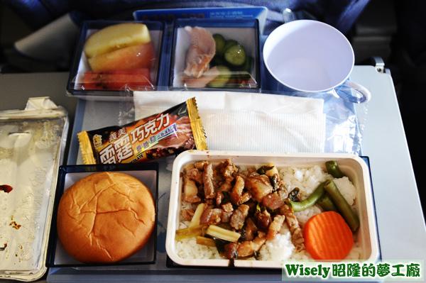 飛機餐(豬肉)
