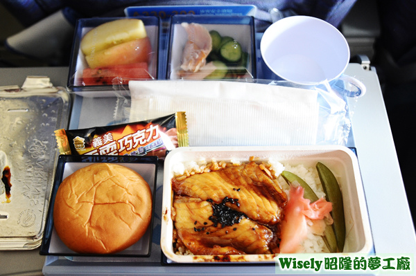 飛機餐(鯛魚)