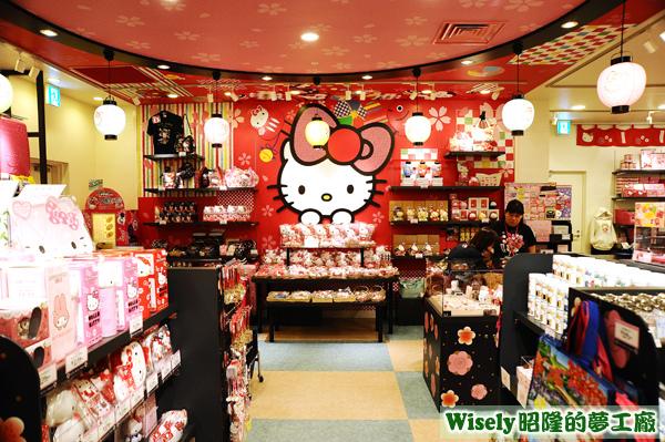 Hello Kitty Japan 店內商品
