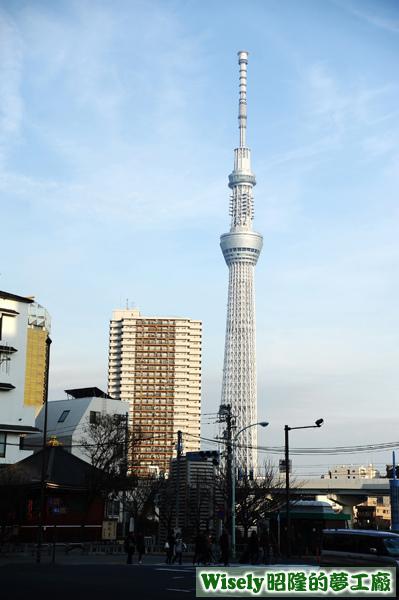 晴空塔(TOKYO SKYTREE/天空樹)