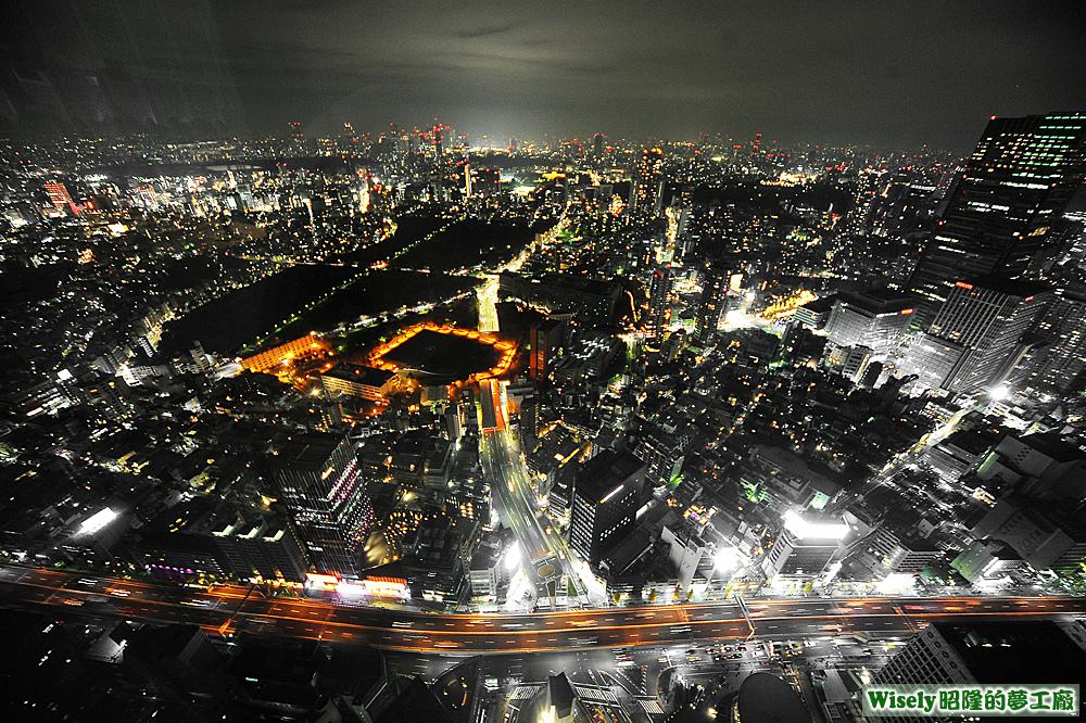 六本木ヒルズ展望台(Tokyo City View)夜景