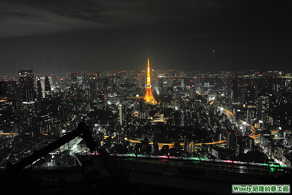 六本木ヒルズ展望台スカイデッキ(Tokyo City View摩天台)夜景