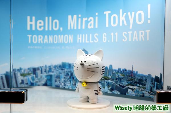 Hello,Mirai Tokyo!的哆啦A夢