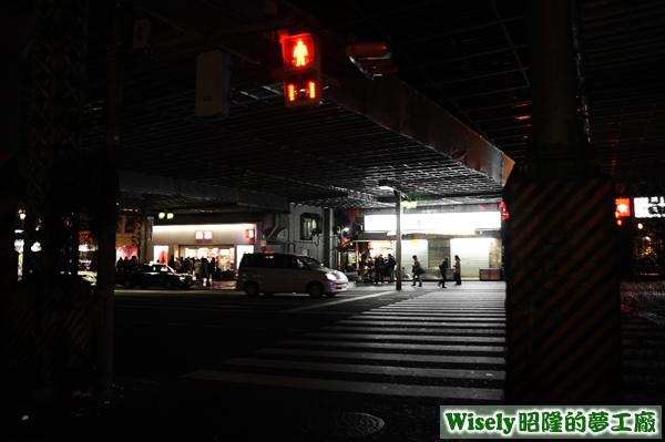 上野車站外