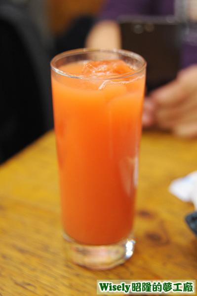 カシスオレンジ(黑醋栗柳橙汁)