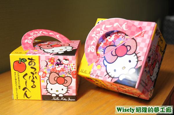 Hello Kitty Japan 蘋果心年輪蛋糕(Apple Kuchen)
