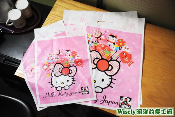 Hello Kitty Japan 手提袋