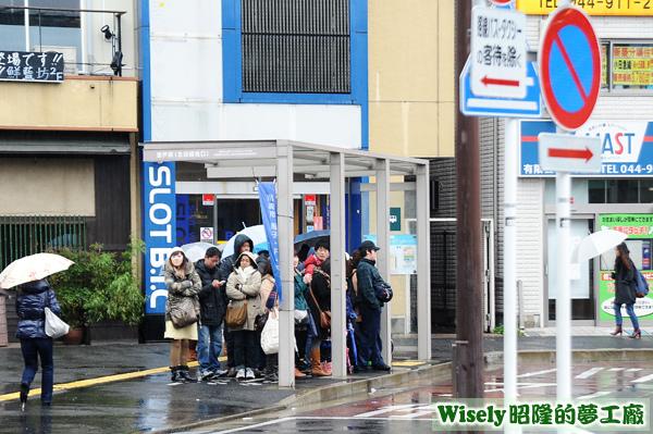 登戶車站旁藤子・F・不二雄ミュージアム接駁站