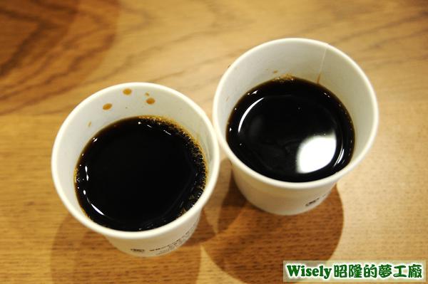 招待黑咖啡