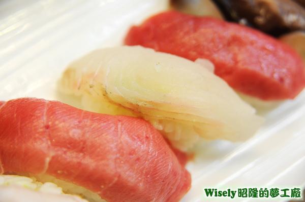 白魚肉握壽司