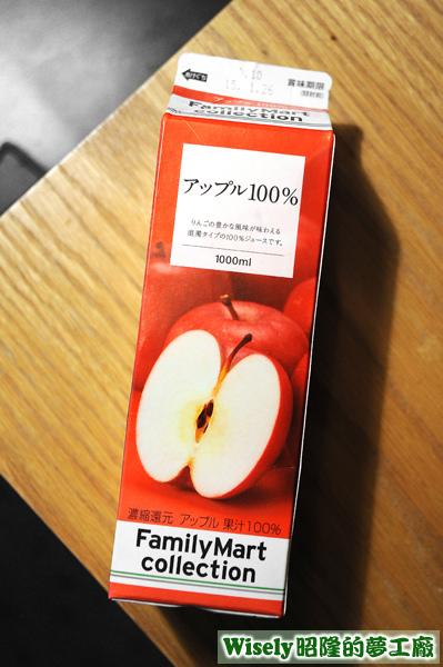 FamilyMart collection アップル100%