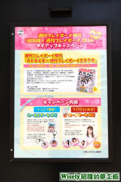 AKB48x週刊プレイボーイ2014海報