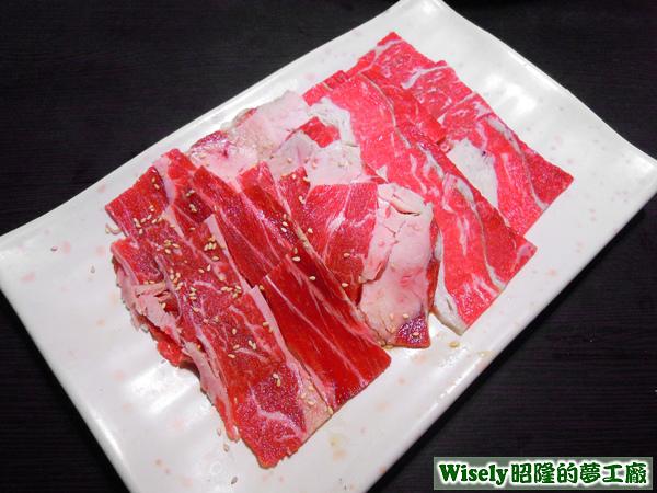 霜降牛肉、特級沙朗