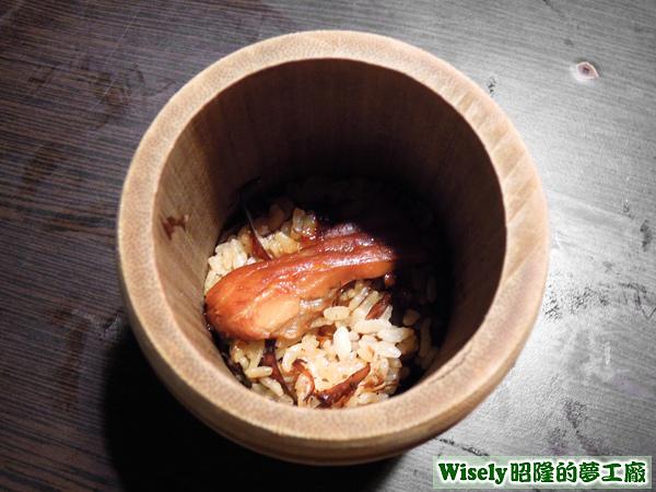 鮭魚竹筒飯