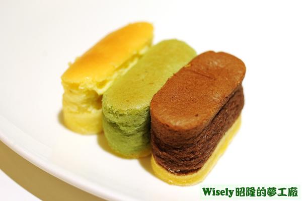 鮮奶乳酪蛋糕(鮮奶/抹茶/巧克力)