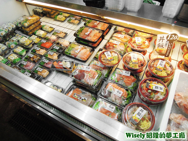 壽司、小菜、生魚片、丼飯