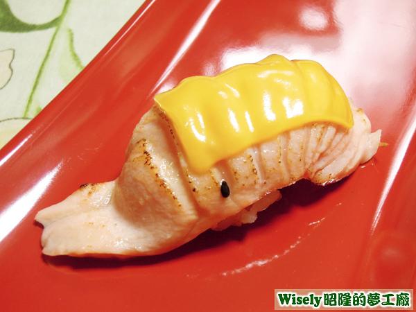 炙鮭魚起司握壽司