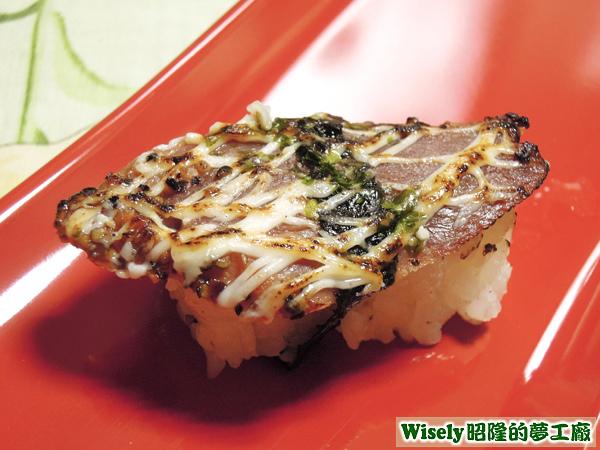 櫻桃鴨肉握壽司